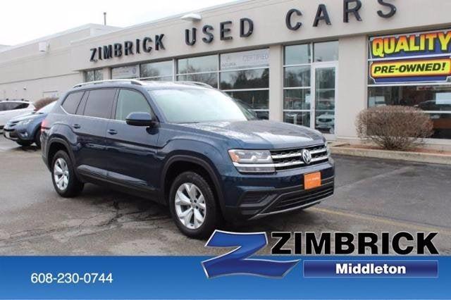 Used 2018 Volkswagen Atlas For Sale Madison Wi Middleton 43279