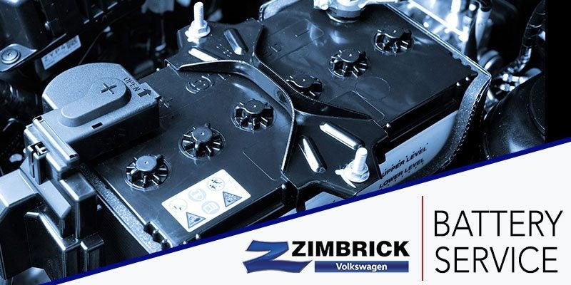 Battery Service At Zimbrick Volkswagen Middleton Wi